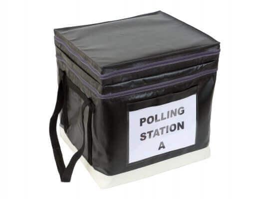صندوق الاقتراع بنصف الحجم من شركة Versapak