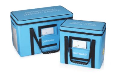 حقائب المنتجات الطبية المحمولة المعزولة المضادة للميكروبات
